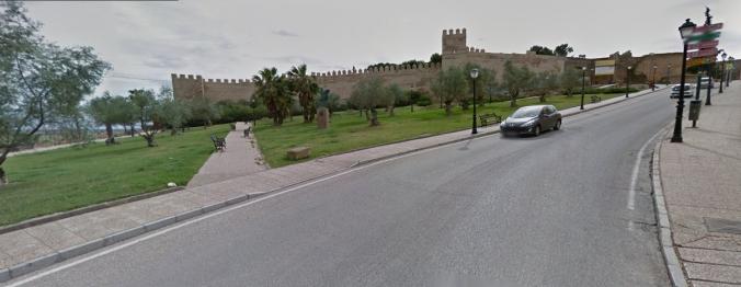 Subiendo a la Alcazaba